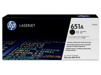 HP CE340A Tonerová kazeta Black 651A