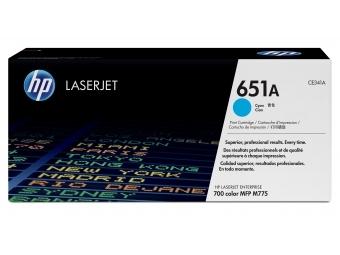 HP CE341A Tonerová kazeta Cyan 651A
