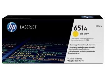 HP CE342A Tonerová kazeta Yellow 651A
