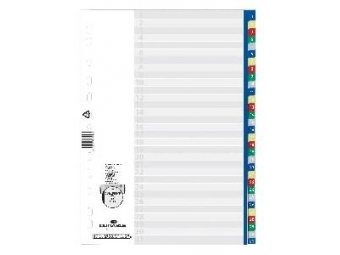 Durable Rozraďovač plastový 1-31 farebný