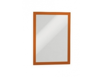 Durable Samol.informač.panel A4 DURAFRAME oranžový (bal=2ks)