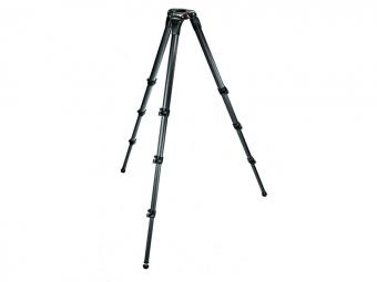 Manfrotto MA 536 Video statív 3 sekcie karbónový, nosnosť 25kg, výška 26-201cm, bez stredového stĺpika