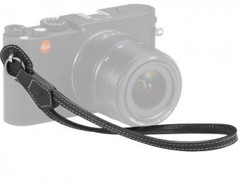 LEICA Wrist Strap pre Leica M, Q a X čierny