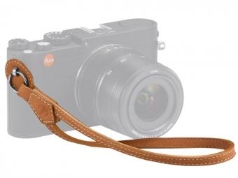 LEICA Wrist Strap pre Leica M, Q a X hnedý