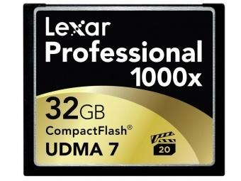 Lexar CF Card Thin Box 32GB 1000x Professional UDMA7