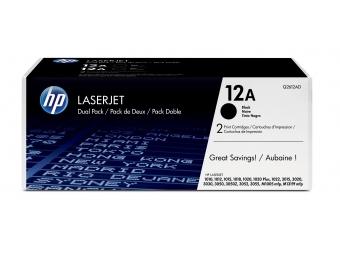 HP Q2612AD Tonerová kazeta Black 12A 2ks