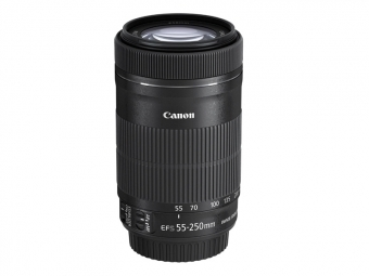 Canon EF-S 55-250mm f/4-5,6 IS STM (pri kúpe s fotoaparátom -30€ SPÄŤ)