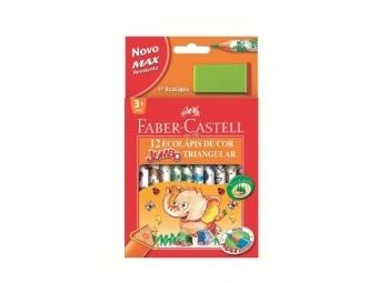 Faber-Castell Pastelky Eco Jumbo Triangular,sada 12ks