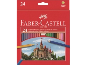 Faber-Castell pastelky,sada 24ks