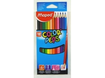 Maped COLOR´PEPS pastelky,sada 12ks
