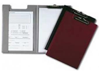 Durable Podložka písacia s klipom čierna