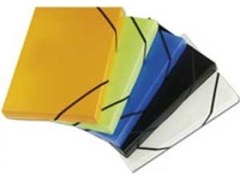 Box na dokumenty plastový Opaline modrý