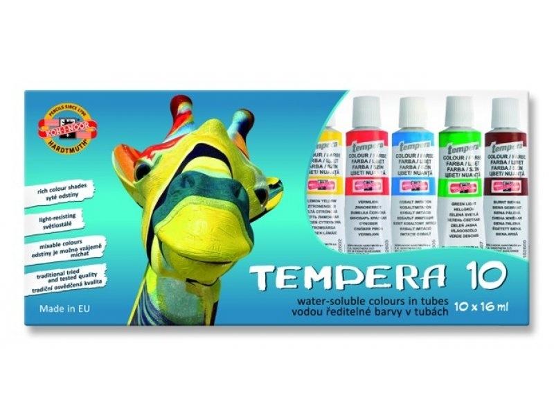 f76f86ad97 Koh-i-noor Temperové farby TEMPERA 162502 10 farieb x16ml ...