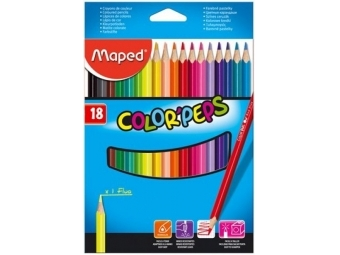 Maped COLOR´PEPS pastelky,sada 18ks