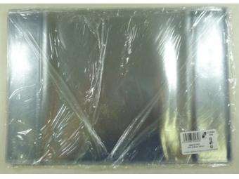 Obal na zošit A6 PVC transp.pevný 224x154mm (bal=25ks)