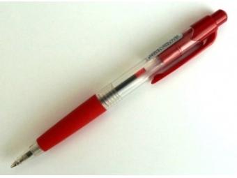 Spoko 112 Pero guličkové červené/červená náplň