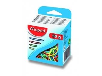 Maped Gumičky viazacie 50g, mix farieb