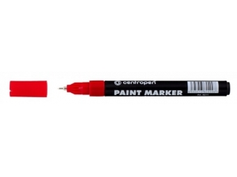 Centropen 9211 PAINT MARKER 0,7mm lakový popisovač červený