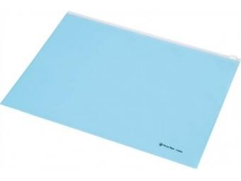 Panta Plast Obal A4 PP so zipsom,pastel.modrá