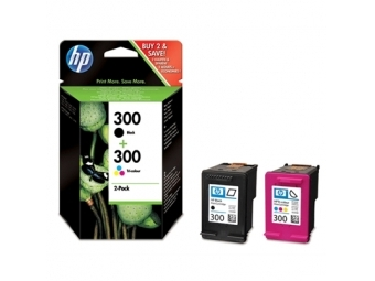 HP No.300 Atramentová kazeta Combi Black+Color (CN637E)