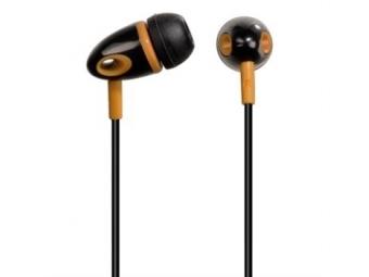 Hama 14299 slúchadlá ME-299, silikónové štuple, čierno-oranžové