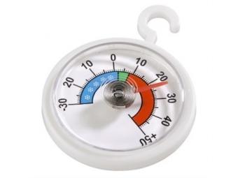 Xavax 111309 teplomer do chladničky/mrazničky, analógový, okrúhly