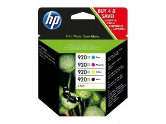 HP No.920XL Atramentová kazeta Combopack C/M/Y/BK (C2N92AE)