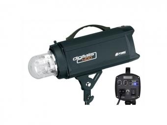 Fomei Digitalis-400 RF, 400Ws/100W, studiový blesk + přijímač 2,4 GHz, Krypton + Reflektor 16,5 cm