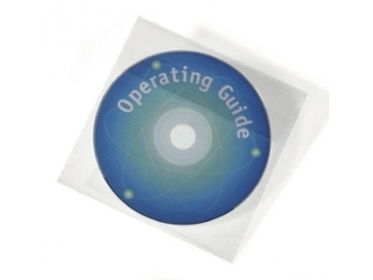 Durable Obal na CD/DVD COVER LIGHT PLUS nelepiace s chlopňou (bal=25ks)