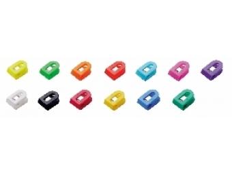 Wedo Klipy na dokumenty Laurel Liliput 1,5x2,5x1cm,mix farieb
