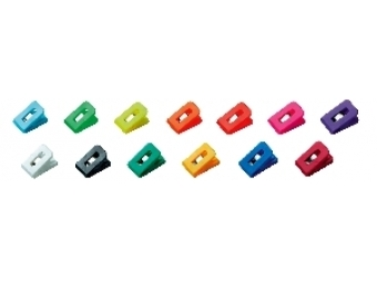 Wedo Klipy na dokumenty Laurel SIGNAL 14,2x2,6x2,4cm,mix farieb