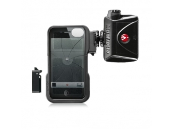 Manfrotto KLYP iPhone case + ML240, obal na iPhone 4/4s + LED svetlo 240