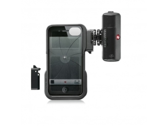 Manfrotto KLYP iPhone case + ML120, obal na iPhone 4/4s + LED svetlo 120