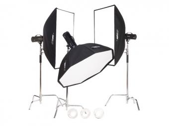 Fomei Digital Pro X/1200/500/500, kit studiových blesků