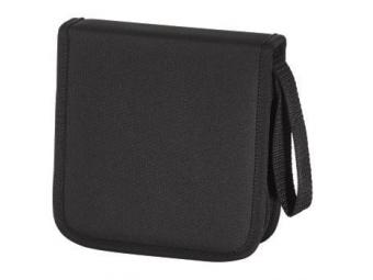 Hama 11615 puzdro Nylon Wallet na 32 CD/DVD, čierne