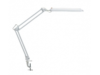 MAUL Atlantic Lampa energeticky úsporná stol. s úchytom biela