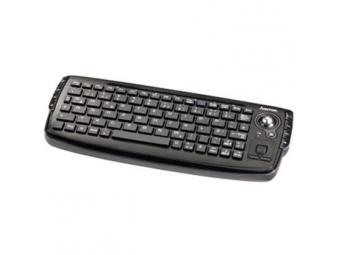 Hama 53815 Uzzano bezdrôtová kompaktná klávesnica s trackballom, slovenský layout