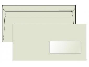 Obálka DL samolepiaca s okienkom recyk. LETTURA (bal=1000ks)