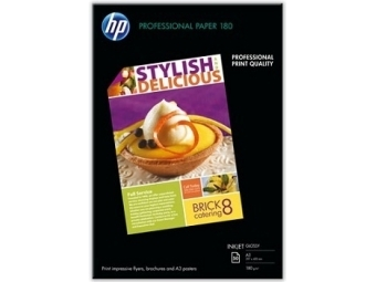 HP Professional Glossy Paper Doublesided (C6821A), A3, 180g (bal=50ks)