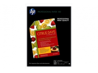 HP Professional Glossy Paper Doublesided (C6818A), A4, 180g (bal=50ks)