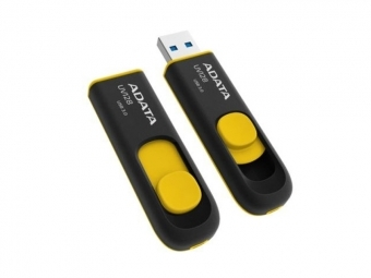 A-Data USB kľúč DashDrive 32 GB Value UV128 USB 3.0, čierno-žltý