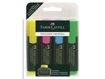 Faber-Castell Textliner 1548 zvýrazňovač (bal=4ks]