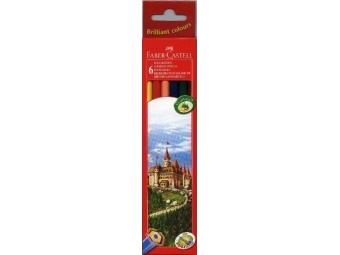 Faber-Castell Pastelky nárazuodolné,sada 6ks