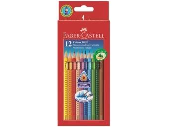 Faber-Castell Colour Grip 2001 akvarelové pastelky,sada 12ks