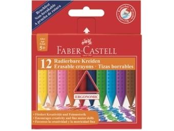 Faber-Castell Plastic Colour pastelky,sada 12ks