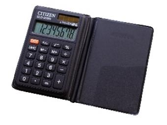 Citizen SLD-200N vrecková kalkulačka v púzdre
