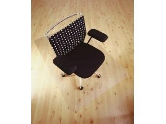 Podložka pod stoličku na podlahy 121x152cm