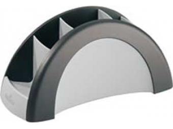 Durable Stojan na perá VEGAS čierny/sivý