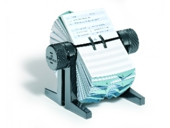 Durable Vizitkár rotačný Telindex cubo (350kartičiek)