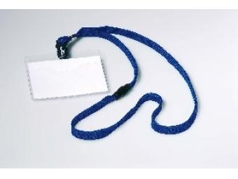 Durable Visačka 90x60mm s modrým remienkom (bal=10ks)